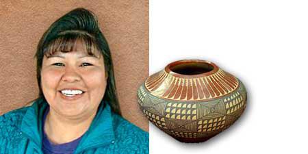 Alvina Yepa Jemez Pueblo Pottery Penfield Gallery Of