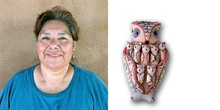 Emily Fragua Tsosie | Storyteller Artist | Penfield Gallery of Indian Arts | Albuquerque | New Mexico