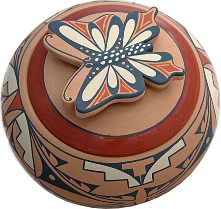 Mary Louise Eteeyan | Jemez Potter | Penfiedl Gallery of Indian Arts | Albuquerque | New Mexico