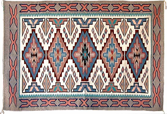 Irene Hollie | Navajo Weaver | Penfield Gallery of Indian Arts | Albuquerque | New Mexico