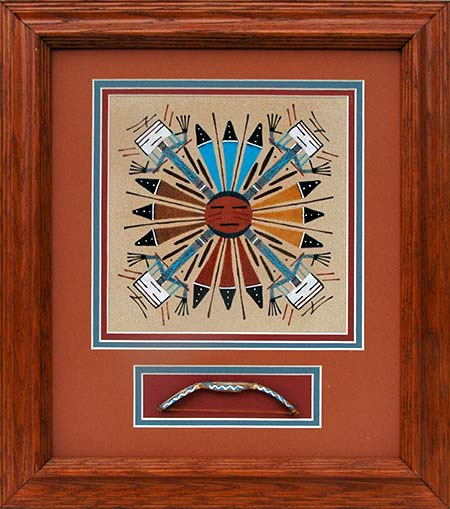 Wilton Lee | Navajo Sandpainter | Penfield Gallery of Indian Arts | Albuquerque, New Mexico