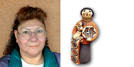 Caroline Gachupin | Storyteller Artist | Penfield Gallery of Indian Arts | Albuquerque | New Mexico