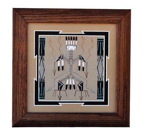 Darlene johbson navajo sandpainting penfield gallery of for Thunderbird jewelry albuquerque new mexico