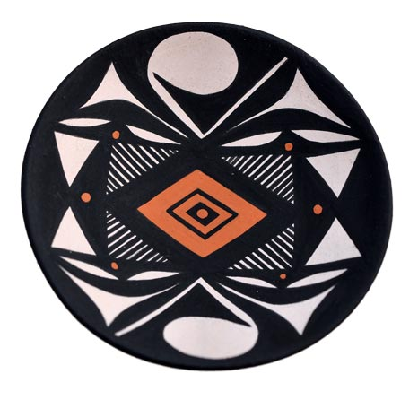Dean Reano | Kewa Plate | Penfield Gallery of Indian Arts | Albuquerque, New Mexico
