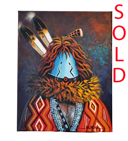 Jack Black | Navajo Yei Painting | Penfield Gallery of Indian Arts | Albuquerque, New Mexico