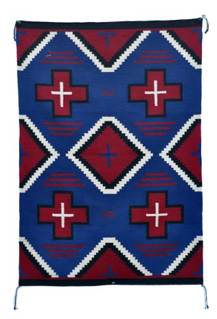 Nellie Dean | Germantown Weaving | Penfield Gallery of Indian Arts | Albuquerque, New Mexico