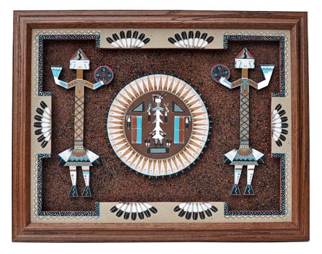 Sammy Myerson | Navajo Sandpainting | Penfield Gallery of Indian Arts | Albuquerque, New Mexico
