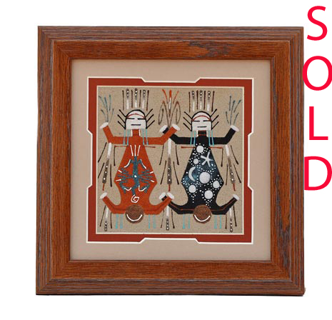 Wilton Lee | Navajo Sandpainting | Penfield Gallery of Indian Arts | Albuquerque, New Mexico